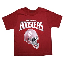 ADIDAS Toddler Indiana Football Big Helmet T-Shirt