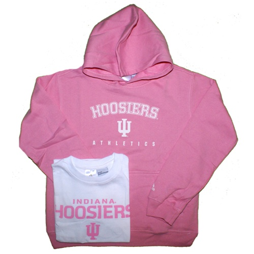Adidas Girls Pink Indiana Sweatshirt And T Shirt Combo