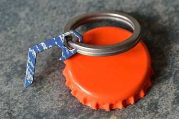PiCO Denim Blue - Titanium Micro Bottle Opener