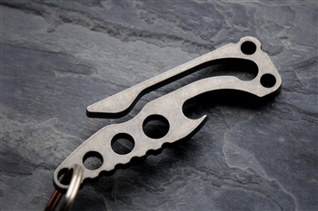 Pickpocket Alpha- Titanium Bottle Opener/Pocketclip