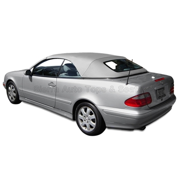 Replacement 1999-2003 Mercedes CLK Convertible Top: Orion Grey