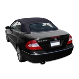 Mercedes Convertible Top 2004-2009 CLK (209) German A5 Canvas, Black