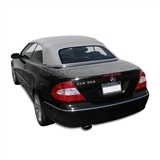 2004-2009 CLK Convertible Top Replacement - Gray - German A5 Canvas