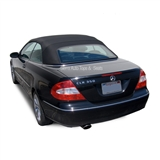 2004-2009 CLK Convertible Top: Black - Haartz Stayfast Cloth
