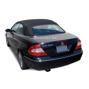 Mercedes Convertible Top 2004-2009 CLK (209) Stayfast Canvas Black