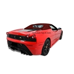 Ferrari F430/360 Bordeaux Twillfast Convertible Top Replacement -2001-2009
