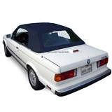 BMW 3 Series Convertible Top Replacement - Blue German Classic Canvas