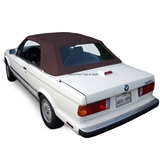 BMW Convertible Top 1987-1993 3 Series (E30) German Classic Canvas Brown