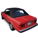 BMW Convertible Top 1987-1993 3 Series (E30) Stayfast Canvas Black