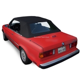 BMW Convertible Top 1987-1993 3 Series (E30) Stayfast Canvas, Black