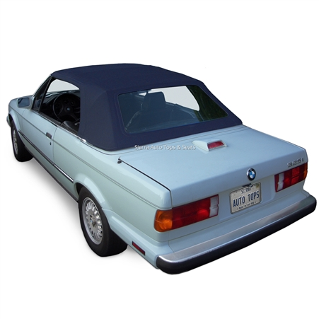 BMW Convertible Top 1987-1993 3 Series (E30) Stayfast Canvas Blue