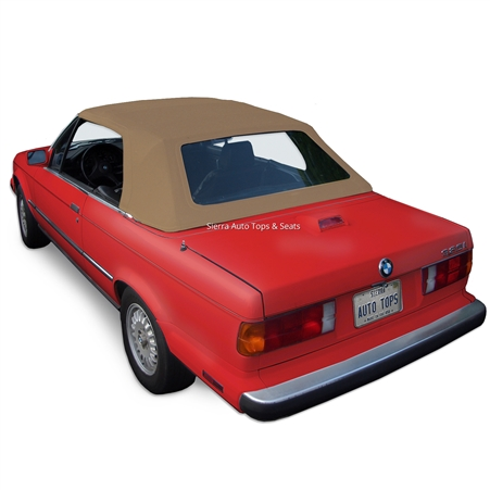 BMW Convertible Top 1987-1993 3 Series (E30) Stayfast Canvas, Beige