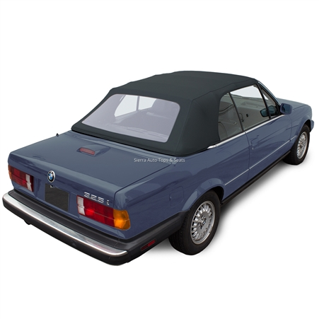 BMW Convertible Top 1987-1993 3 Series (E30) Twill Grain Vinyl Blue