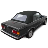 BMW Convertible Top 1987-1993 3 Series (E30) Twill Grain Vinyl Black