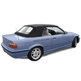 BMW 3- Series Convertible Top - Black Twillfast & Plastic Window