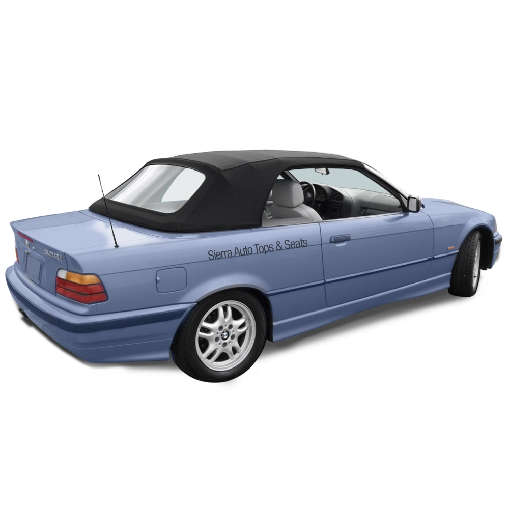 BMW 3 Series Convertible Top, 1994 1999, Twillfast Cloth With Plastic Window
