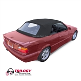 BMW 3-Series Convertible Top, 1994-1999, Trilogy Acoustic Vinyl, Plastic Window