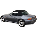 Convertible top for the BMW Z3 1996-2002 in Black Stayfast