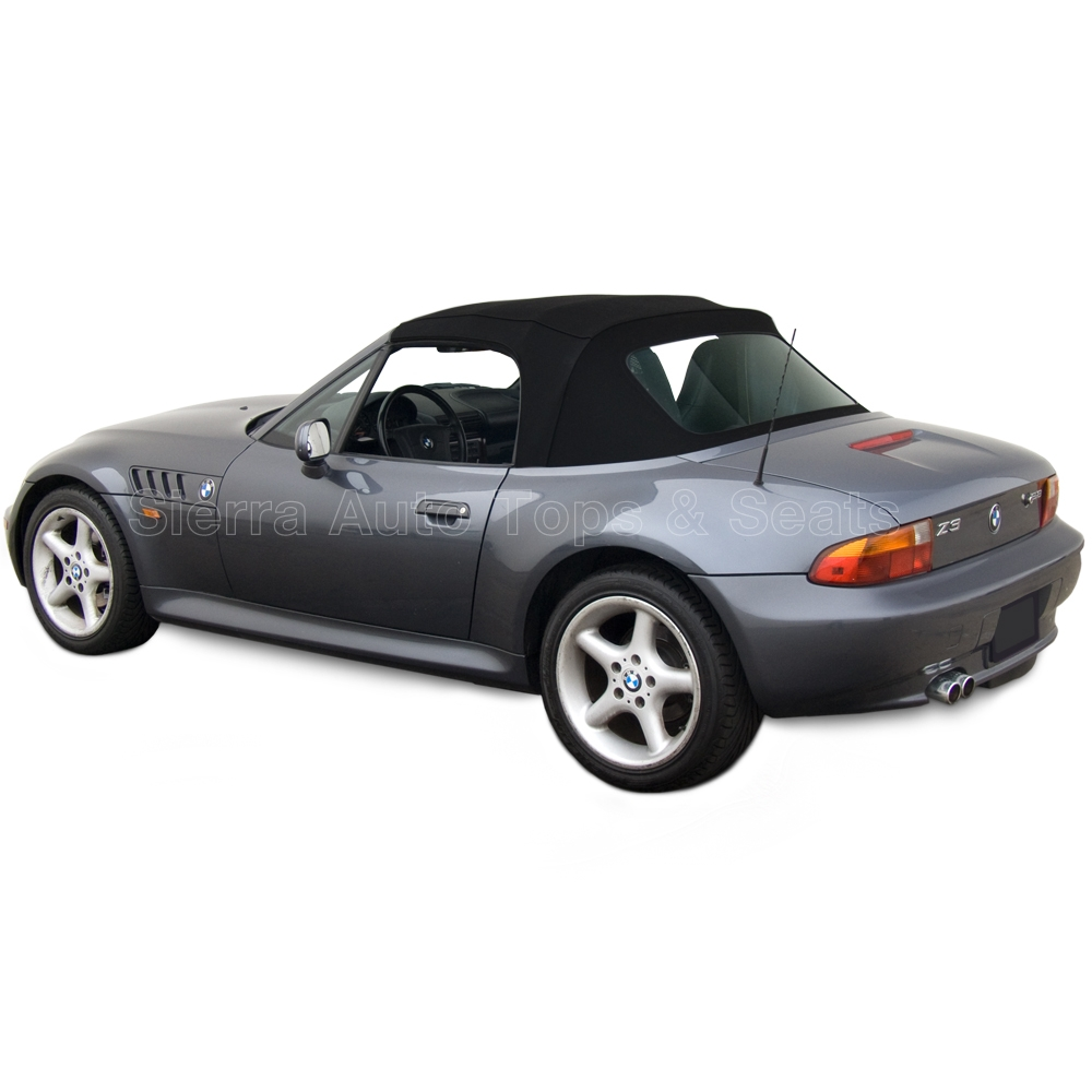 Convertible Top For The BMW Z3 1996-2002: Black Stayfast