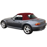 BMW Z3 & M Roadster Burgundy Convertible Top w/ Plastic Window