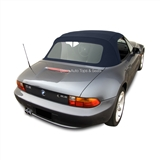 BMW Z3 1996-2002 Blue Convertible Top: Twillfast II - Plastic Window