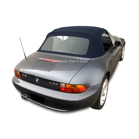BMW Z3 1996-2002 Blue Convertible Top: Twillfast II | Plastic Window