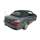 BMW E46 3-Series Convertible Top - Black Stayfast Canvas