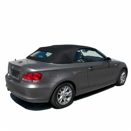 BMW 1 Series Convertible Top Replacement - Black Twillfast RPC BMW Top