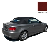 BMW 1 Series Convertible Top - Bordeaux Twillfast RPC BMW Top