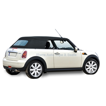 Mini Cooper Convertible Top (2004-2008) Glass Window, Dark Green | Auto Tops Direct