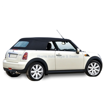 2004-2008 Mini Cooper Black Heated Window Convertible Top Replacement
