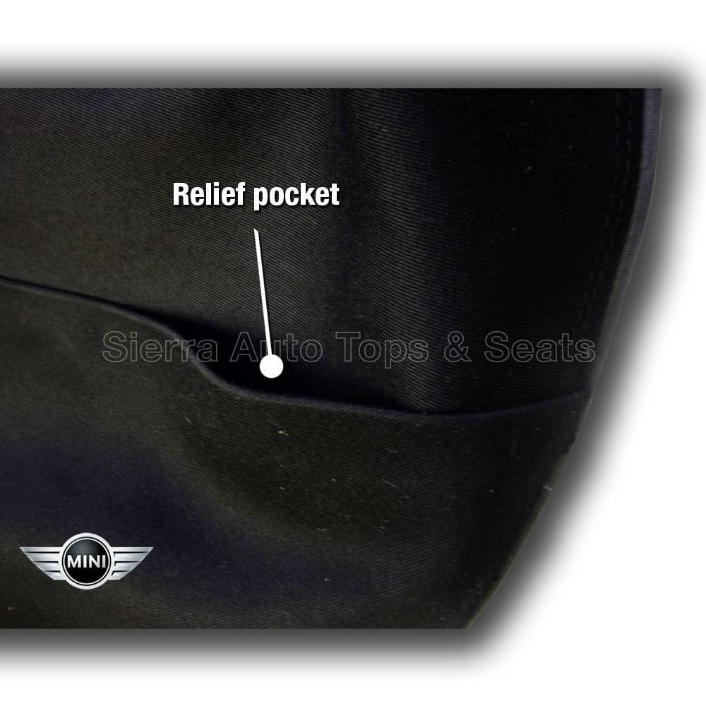 2004-2008 Mini Cooper Black Convertible Top