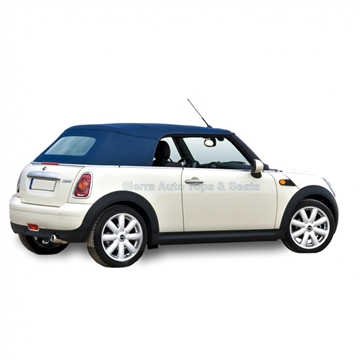 2004-2008 Mini Cooper Blue Convertible Top Replacement - Heated Window