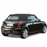 Mini Cooper Convertible Top 2009-2015 TwillFast RPC Canvas, Black