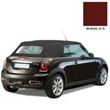 Mini Cooper 2009-2015 Convertible Top, Black Twillfast RPC | Auto Tops Direct