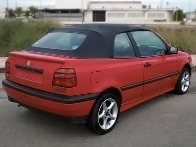 1995 2000 Vw Cabrio Golf Convertible Top Black Cabrio