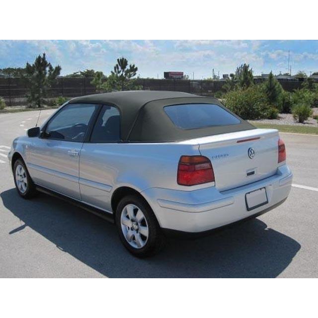 2001 2002 Vw Cabrio Golf Convertible Top Black Vinyl