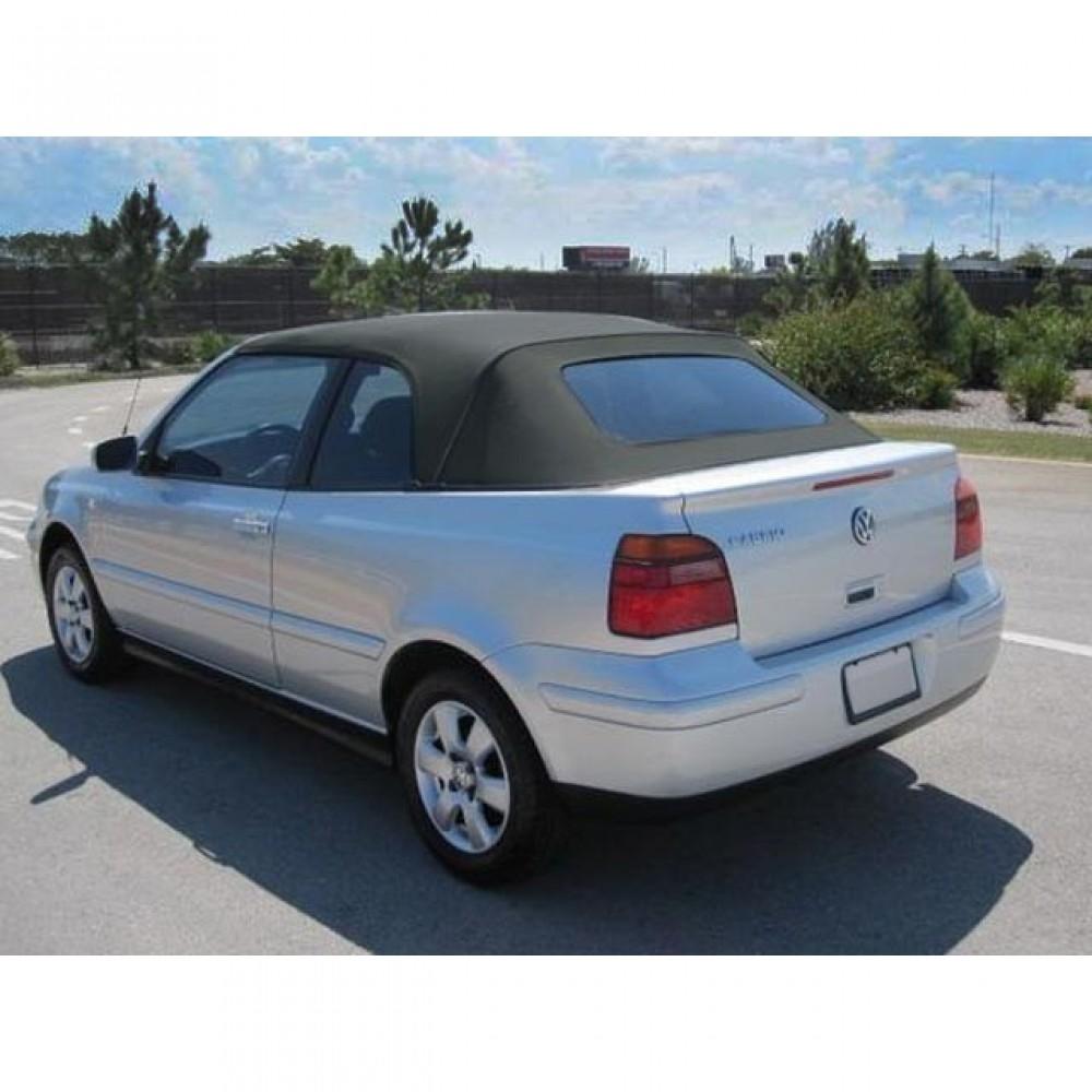 Volkswagen Convertible Top 2001 2002 Golf Cabrio Twill Grain Vinyl Black