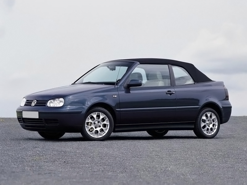 1995 2000 Vw Cabrio Golf Convertible Top Black Acoustic Vinyl