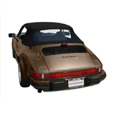 Porsche 911 1983-1994 Convertible Top w/ Window | Black