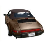 Porsche 911 Convertible Top Replacement & Window, Brown Stayfast Cloth