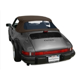 Porsche 911 Convertible Soft Top & Window | Brown Twillfast II