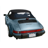 Porsche 911 Convertible Top Replacement - Black German Classic Fabric