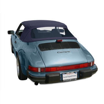 Porsche 911 1983-1994 Twillfast II Convertible Top | Blue