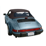 Porsche 911 Convertible Top | German Classic Fabric - Brown