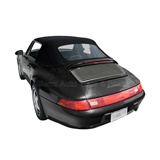 Porsche 911 Convertible Top Replacement - Black German Classic Canvas
