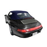 Porsche 911 Convertible Top Replacement - Blue German Classic Canvas