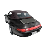 Porsche 911 1983-94 Convertible Top Replacement & Plastic Window, Brown