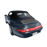Porsche 911 Convertible Top Replacement - Blue Stayfast Canvas