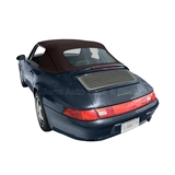 Porsche 911 Convertible Top Replacement - Black Stayfast Canvas
